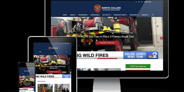 north collier fire